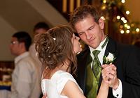 Jordan and Jamie Dayton - Wedding reception - first dance